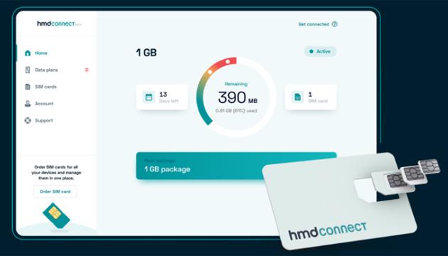HMD Connect, nuovo servizio di roaming dati globale dal produttore di telefoni Nokia