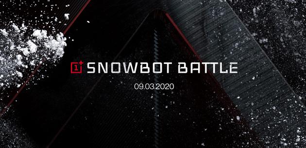 OnePlus Snowbot Battle: come partecipare alla battaglia di palle di neve controllata dal 5G