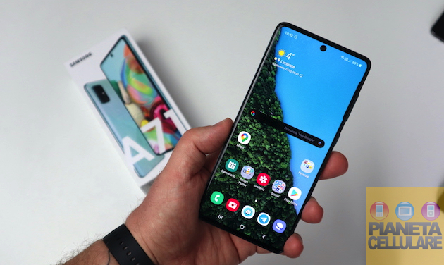 Recensione Samsung Galaxy A71, con processore Snapdragon convince