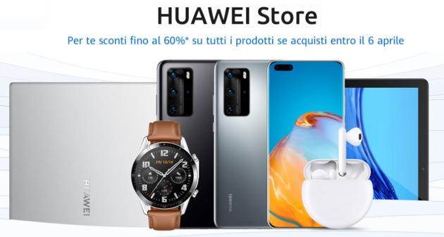 Huawei Store, in Italia apre il negozio online ufficiale Huawei