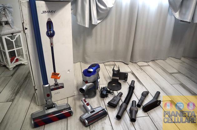 Recensione scopa elettrica Jimmy JV83 by Xiaomi