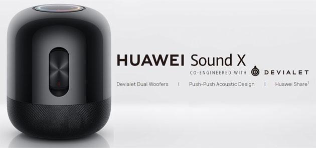 Huawei Sound X, smart speaker realizzato con Devialet preordinabile in Italia