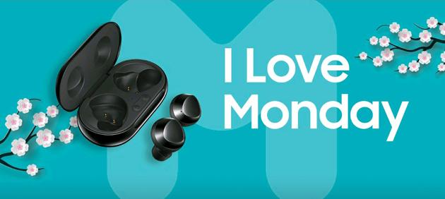 Samsung regala Galaxy Buds Plus e Galaxy Z Flip con I Love Monday su Samsung Members