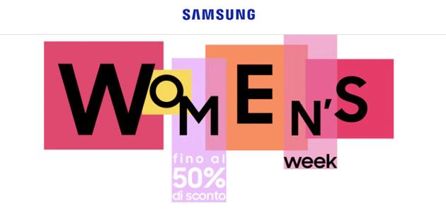 Samsung Shop Online per la Festa della Donna 2020