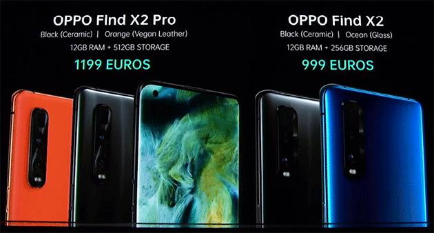 Oppo Find X2 e Find X2 Pro ufficiali: caratteristiche, foto, video e prezzi in Italia