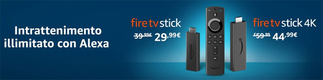 Amazon sconta Fire TV Stick: ideale per intrattenersi a casa in Emergenza da Coronavirus