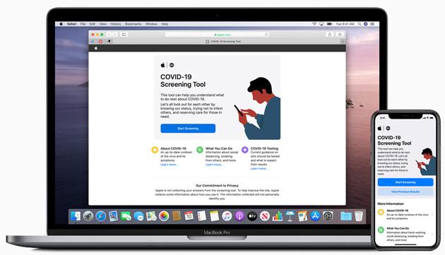 Apple rilascia app e sito web COVID-19 con informazioni utili sul nuovo coronavirus