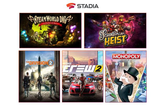 Google Stadia: disponibili nuovi giochi e accesso alle acquisizioni da laptop e desktop
