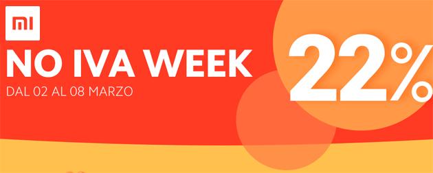 Xiaomi No IVA Week: smartphone e non solo per una settimana in promozione