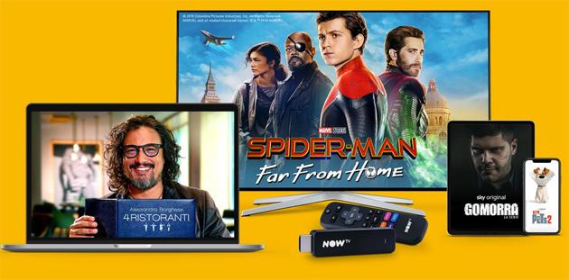 Foto NOW TV ringrazia i propri clienti e promette 'un futuro spettacolare'