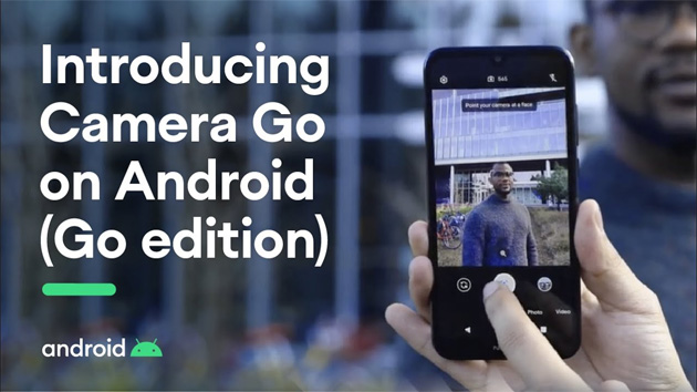 Camera GO per Android GO Edition ufficiale