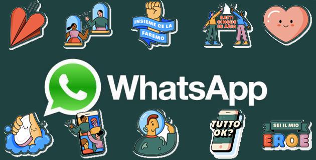 Su Whatsapp nuovi adesivi ricordano di lavarsi spesso le mani, mantenere le distanze e altro nel periodo del Covid-19