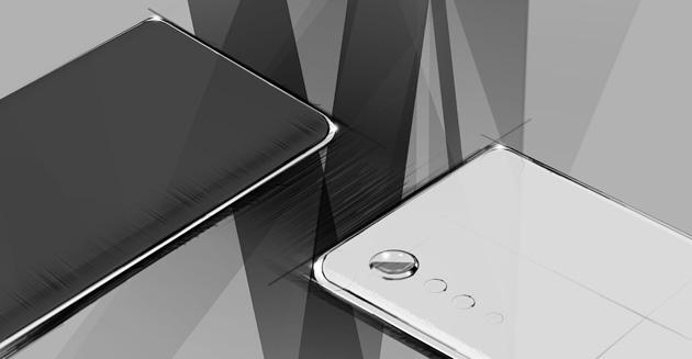 Lg anticipa lo stile di design 'a goccia di pioggia' del suo prossimo smartphone