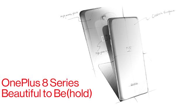OnePlus Serie 8, parliamo del design