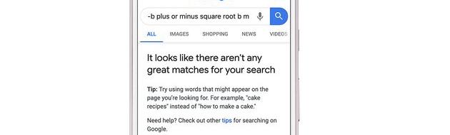 Google ammette quando pensa di mostrare risultati non buoni nelle ricerche online