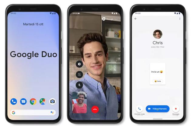 Google Duo: Come effettuare chiamate Video e Voce da Smartphone, Tablet e PC