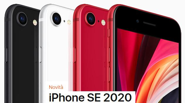 Apple iPhone SE 2020 ufficiale con TouchID e prezzi da 499 euro in Italia