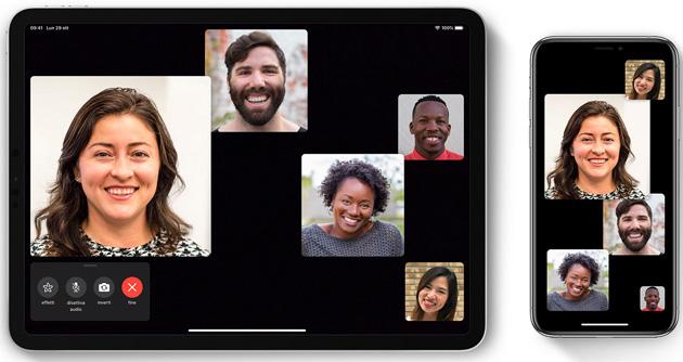 Apple Facetime di Gruppo: come funziona