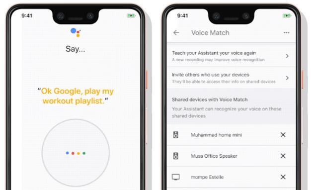 Assistente Google riconosce con precisione maggiore gli utenti e consente di cambiare la sensibilita' su altoparlanti e display smart