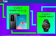Foto TIM Party regala Huawei P40 Pro 5G e Huawei Watch 2