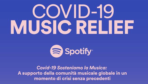 Le risposte di Spotify al Covid-19