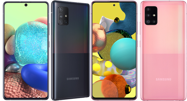 Samsung Galaxy A51 5G ufficiale in Italia, Galaxy A71 5G non ancora