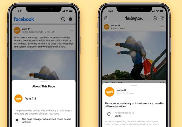 Su Facebook e Instagram maggiore Trasparenza da Pagine e Account popolari