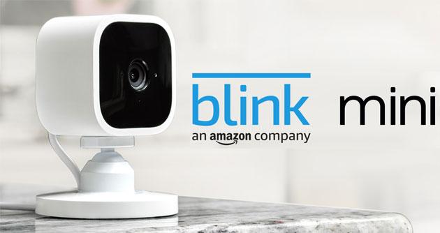 Amazon presenta Blink Mini, compatta videocamera di sicurezza compatibile con Alexa
