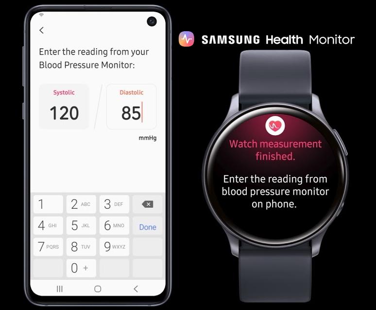 Samsung Health Monitor abilita la misurazione della pressione sanguigna sul Galaxy Watch Active2