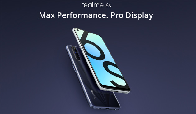 Realme 6s con Quad-Camera, batteria 4300mAh e display 6.5 in Italia