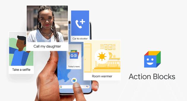Action Blocks, app Google per aggiungere scorciatoie dell'Assistente alle schermate Home su Android