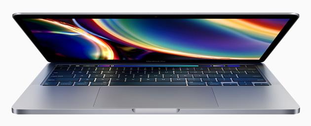 Apple lancia MacBook Pro 13 pollici 2020 con Magic Keyboard, spazio raddoppiato e maggiore potenza