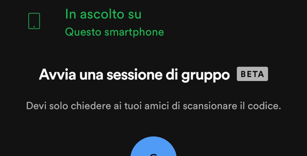 Spotify consente di avviare sessioni musicali di gruppo, ora anche a distanza