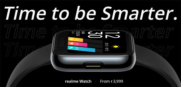 Realme Watch in Italia, ricorda Fitbit Versa 2 e Apple Watch ma costa molto meno