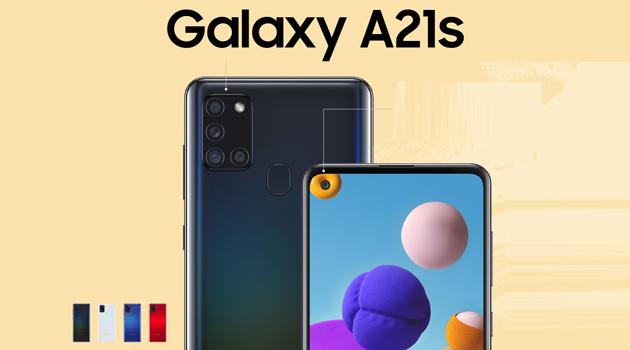 Samsung Galaxy A21s con display Infinity-O, Quad-Camera, batteria 5000mAh ufficiale in Italia