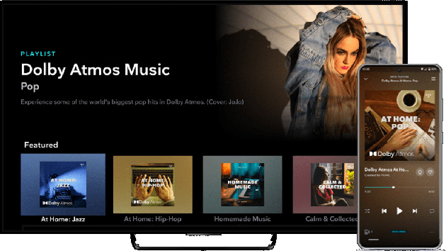 TIDAL suona in Dolby Atmos Music su TV e Soundbar compatibili