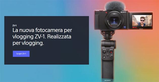 Sony ZV-1 la Vlog camera definiva, per almeno qualche anno
