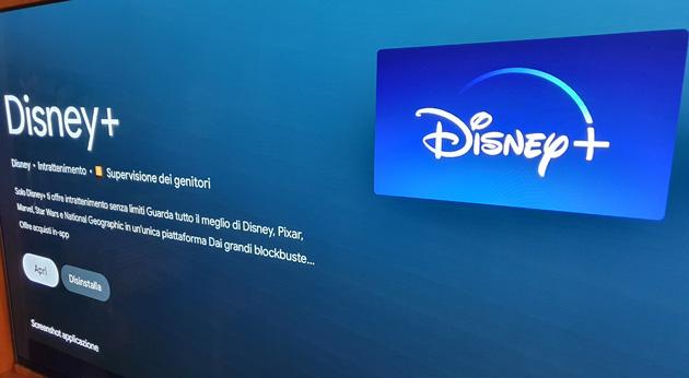 Disney Plus offre nuove opzioni per gestire il consumo di dati su Android TV