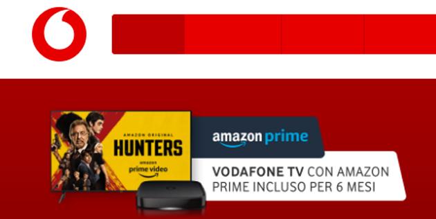 Amazon Prime Video su Vodafone TV