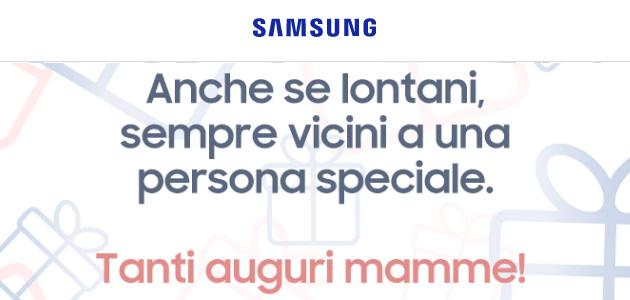 Samsung per la Festa della Mamma 2020 sconta Extra Sconta Smartphone, Tablet e Wearable nel suo shop online