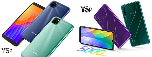 Huawei Y6P e Y5P ufficiali in Italia, sono alla portata di tutti