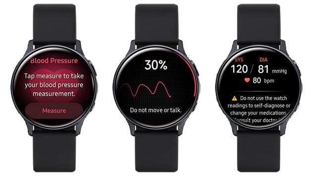 Samsung lancia Health Monitor per misurare la pressione sanguigna con Galaxy Watch Active2 in Corea