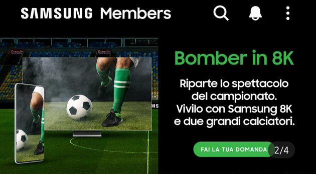Samsung Members regala una diretta con Bobo Vieri e Nicola Ventola