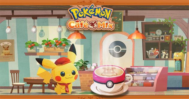 Pokemon Cafe Mix e Pokemon Smile nuovi giochi per Android e iOS
