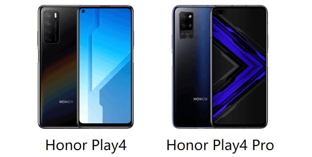 Honor Play 4 Pro e Play 4 ufficiali con fino a 5 fotocamere