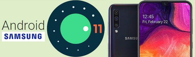Android 11 sui questi dispositivi Samsung Galaxy esistenti potrebbe arrivare