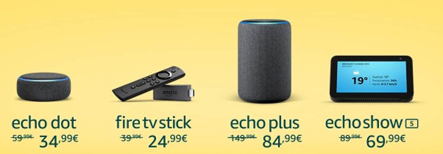 Foto Amazon avvicina l'Estate scontando Echo con Alexa e Fire TV Stick