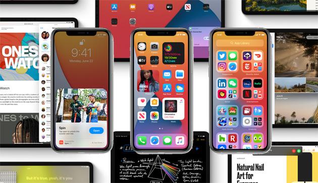 Apple aggiorna con iOS 14, iPadOS 14 e watchOS 7 gli iPhone, iPad e Apple Watch compatibili dal16 Settembre