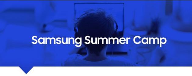 Il Samsung Summer Camp stimola i bambini ad imparare in vacanza finita la scuola