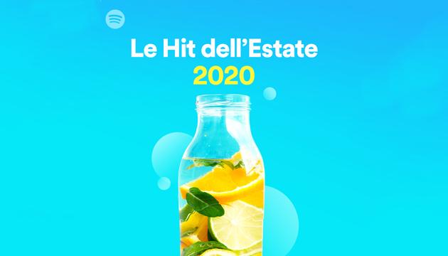 Spotify lancia le playlist Hit Estate 2020 e Le tue Hit estive del passato